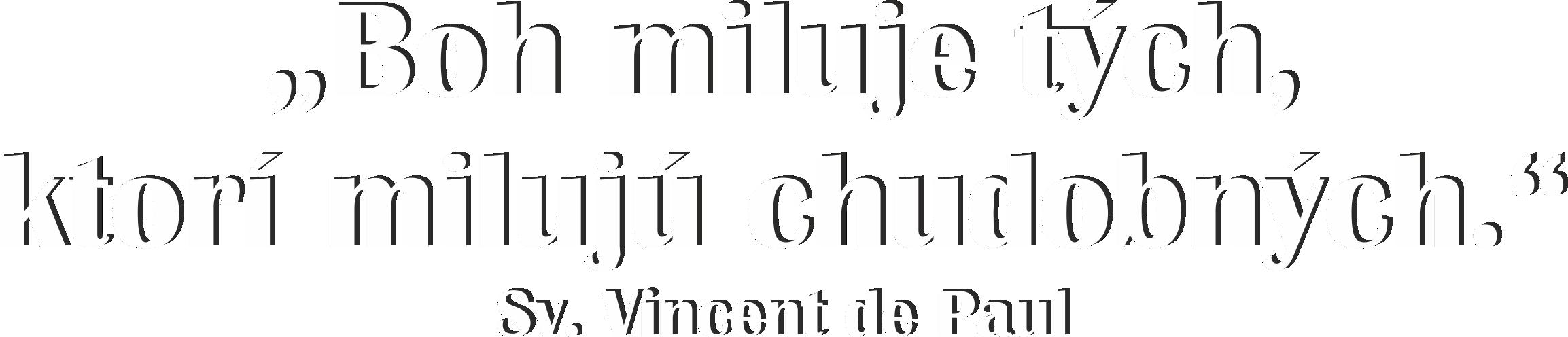 myšlienka sv. Vincenta