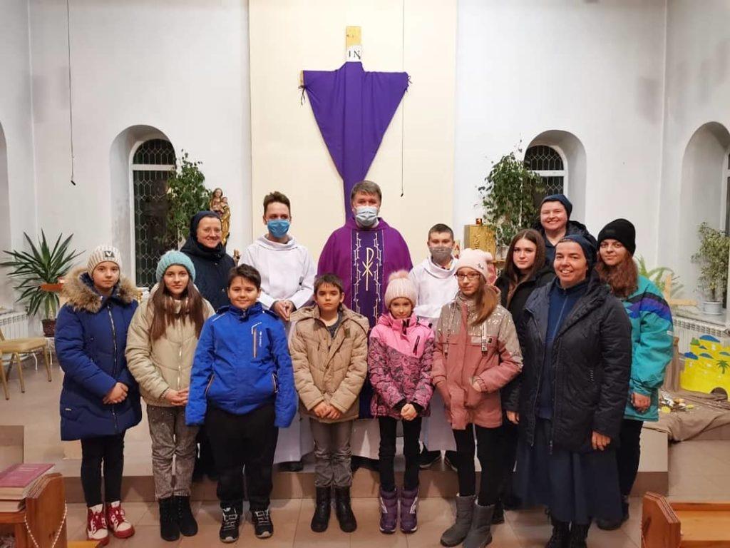 Duchovný víkend s mladými v Omsku