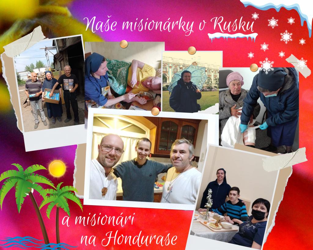Misijná nedeľa: naše misionárky v Rusku a misionári na Hondurase
